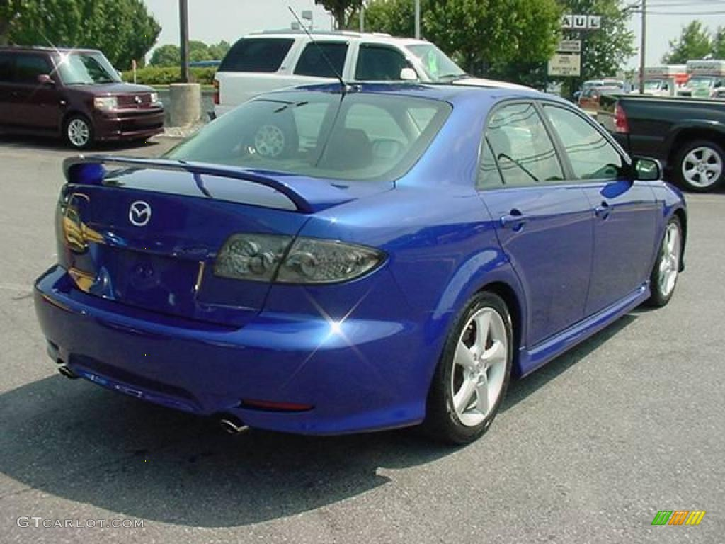 2004 lapis blue metallic mazda mazda6 s sedan 15280364 photo 6 car color. Black Bedroom Furniture Sets. Home Design Ideas