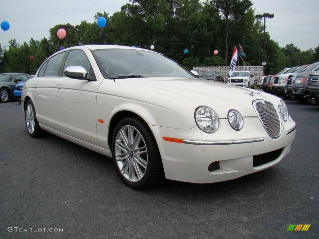 Porcelain White Jaguar S Type
