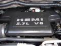 2006 Brilliant Black Crystal Pearl Dodge Ram 1500 SLT Quad Cab 4x4  photo #27