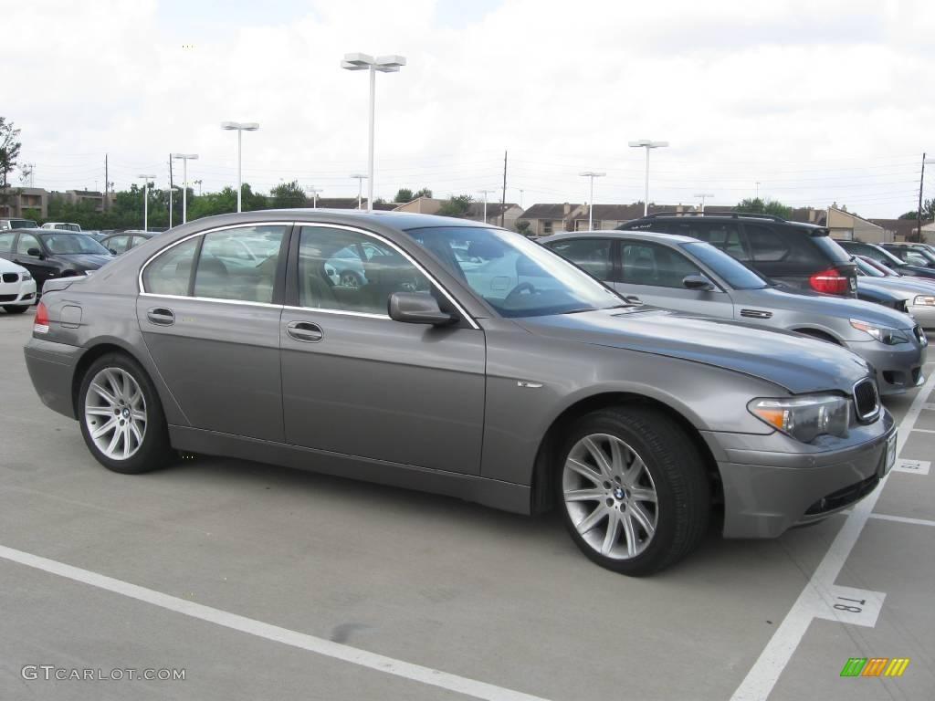 Sterling Grey Metallic BMW 7 Series