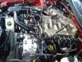 2000 Performance Red Ford Mustang V6 Coupe  photo #19
