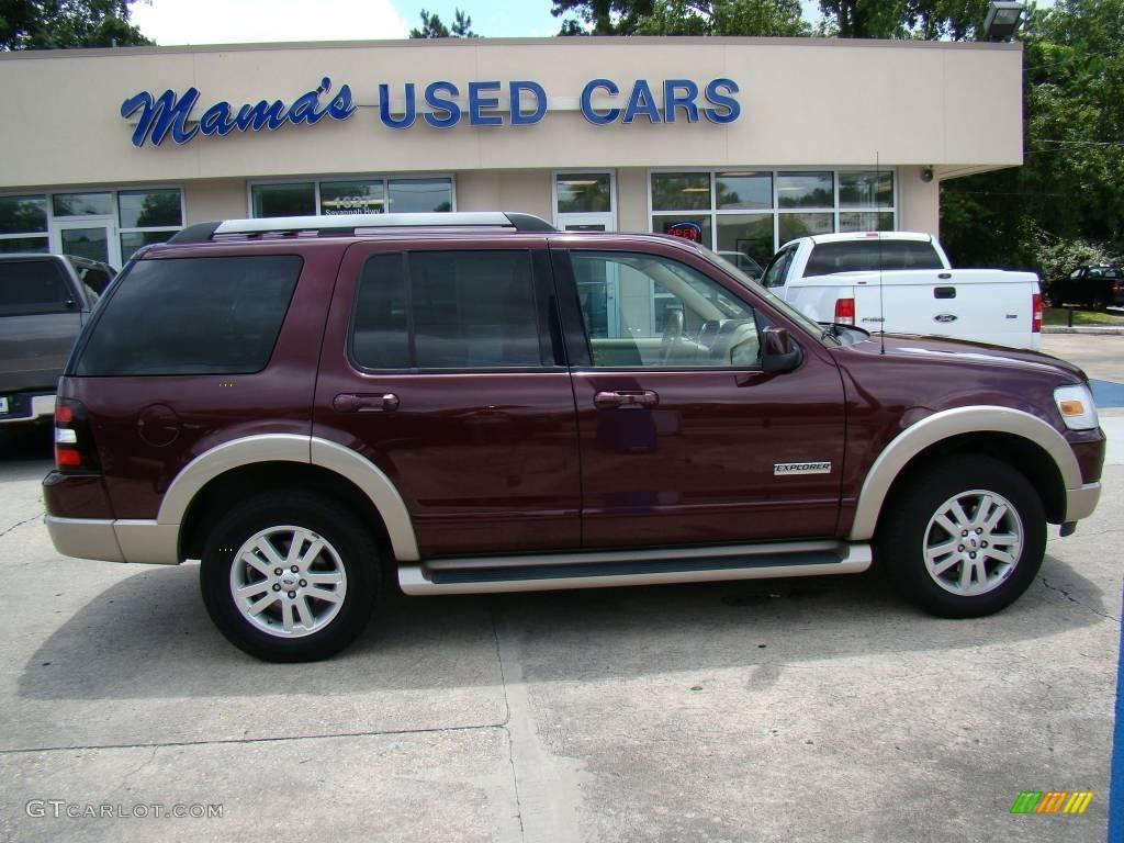 2006 Dark Cherry Metallic Ford Explorer Eddie Bauer 15339913