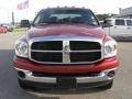 2007 Inferno Red Crystal Pearl Dodge Ram 3500 SLT Mega Cab 4x4 Dually  photo #8