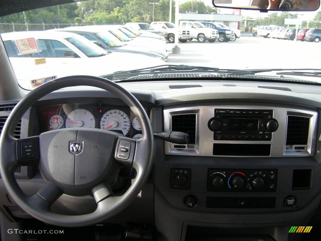 2007 Ram 3500 SLT Mega Cab 4x4 Dually - Inferno Red Crystal Pearl / Medium Slate Gray photo #11