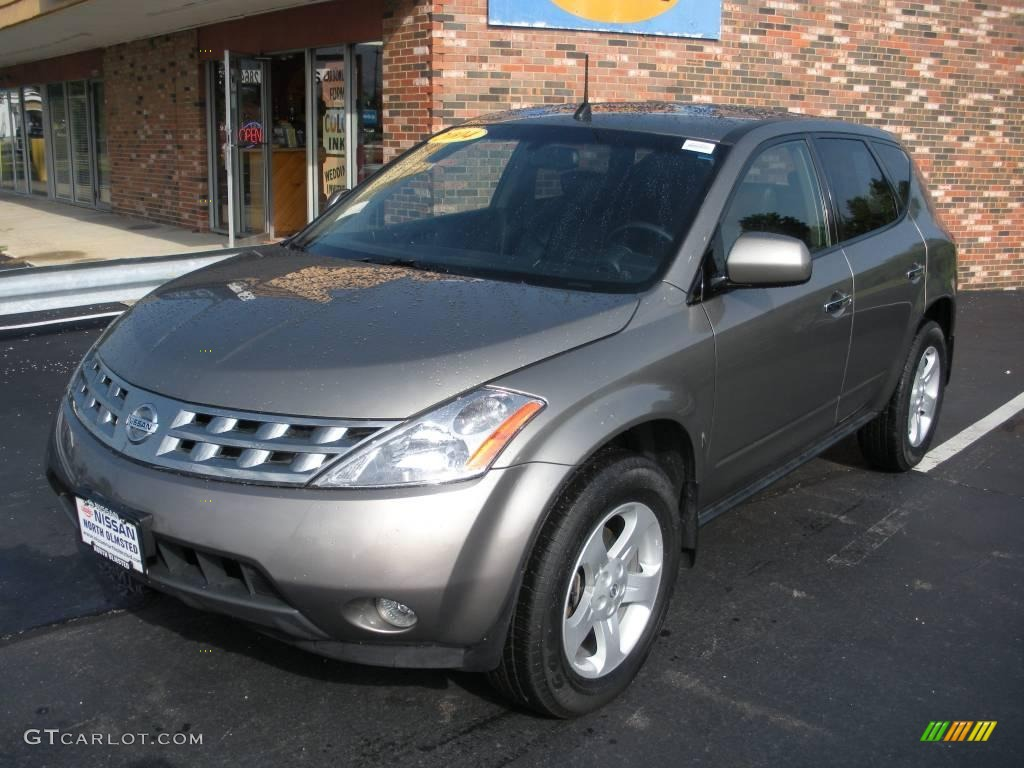 2004 polished pewter metallic nissan murano sl #15338238