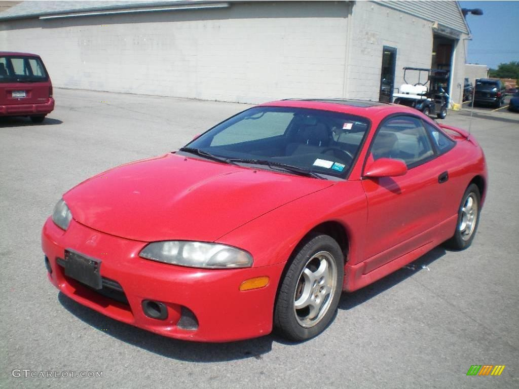 1998 saronno red mitsubishi eclipse gs coupe 15328994 gtcarlot com car color galleries gtcarlot com