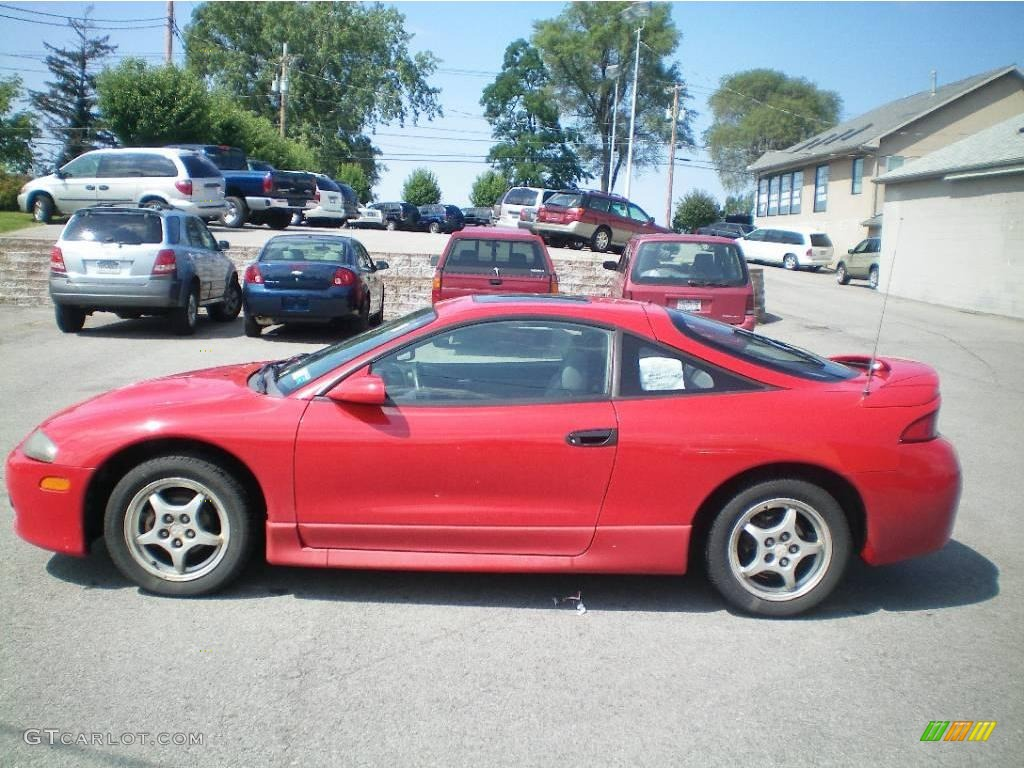 1998 saronno red mitsubishi eclipse gs coupe 15328994 photo 2 gtcarlot com car color galleries gtcarlot com