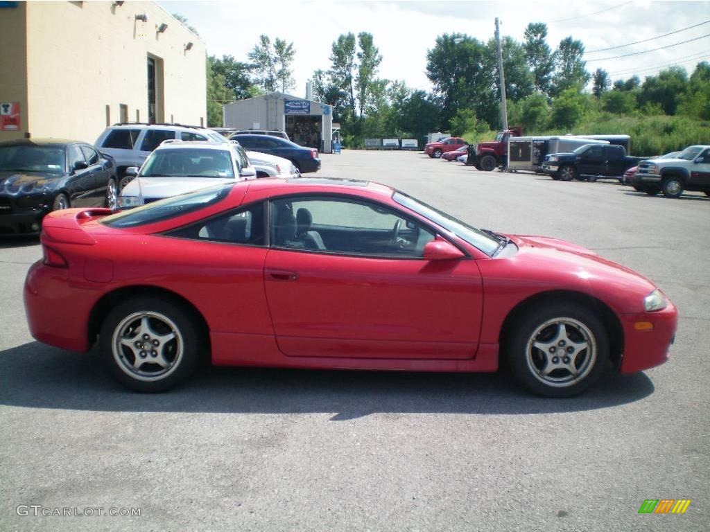 1998 Saronno Red Mitsubishi Eclipse GS Coupe #15328994 Photo #6 | GTCarLot.com - Car Color Galleries