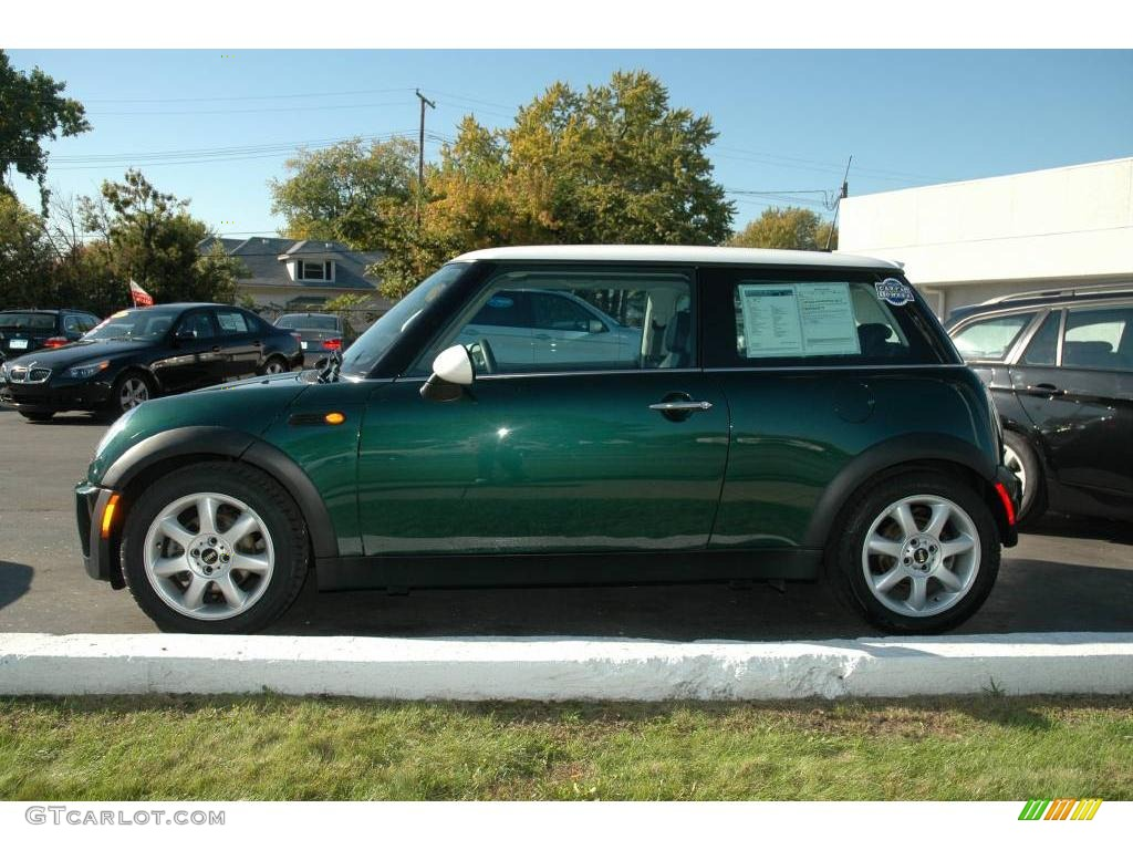 2006 British Racing Green Metallic Mini Cooper Hardtop