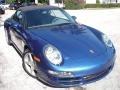 2007 Cobalt Blue Metallic Porsche 911 Carrera Cabriolet  photo #4