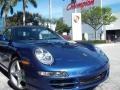2007 Cobalt Blue Metallic Porsche 911 Carrera Cabriolet  photo #5