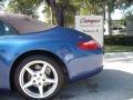 2007 Cobalt Blue Metallic Porsche 911 Carrera Cabriolet  photo #10