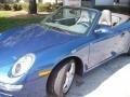 2007 Cobalt Blue Metallic Porsche 911 Carrera Cabriolet  photo #15