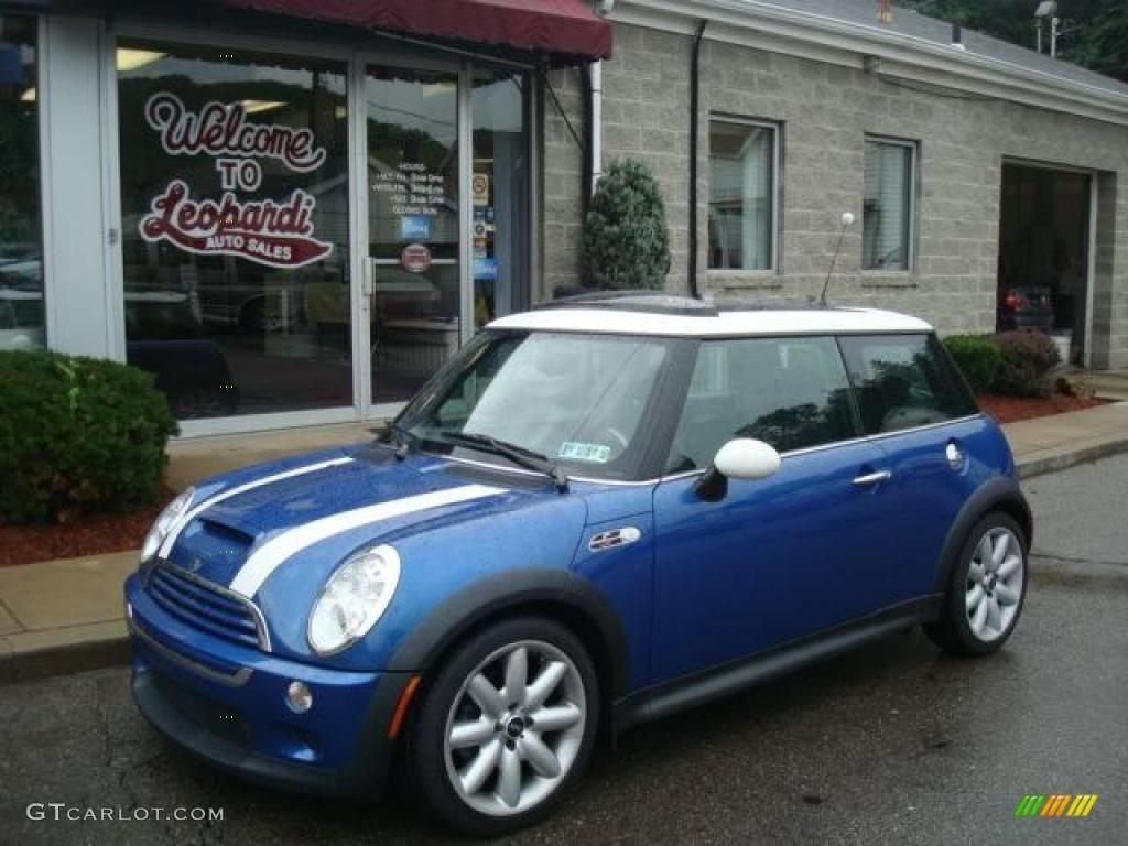 2006 hyper blue metallic mini cooper s hardtop 15340208