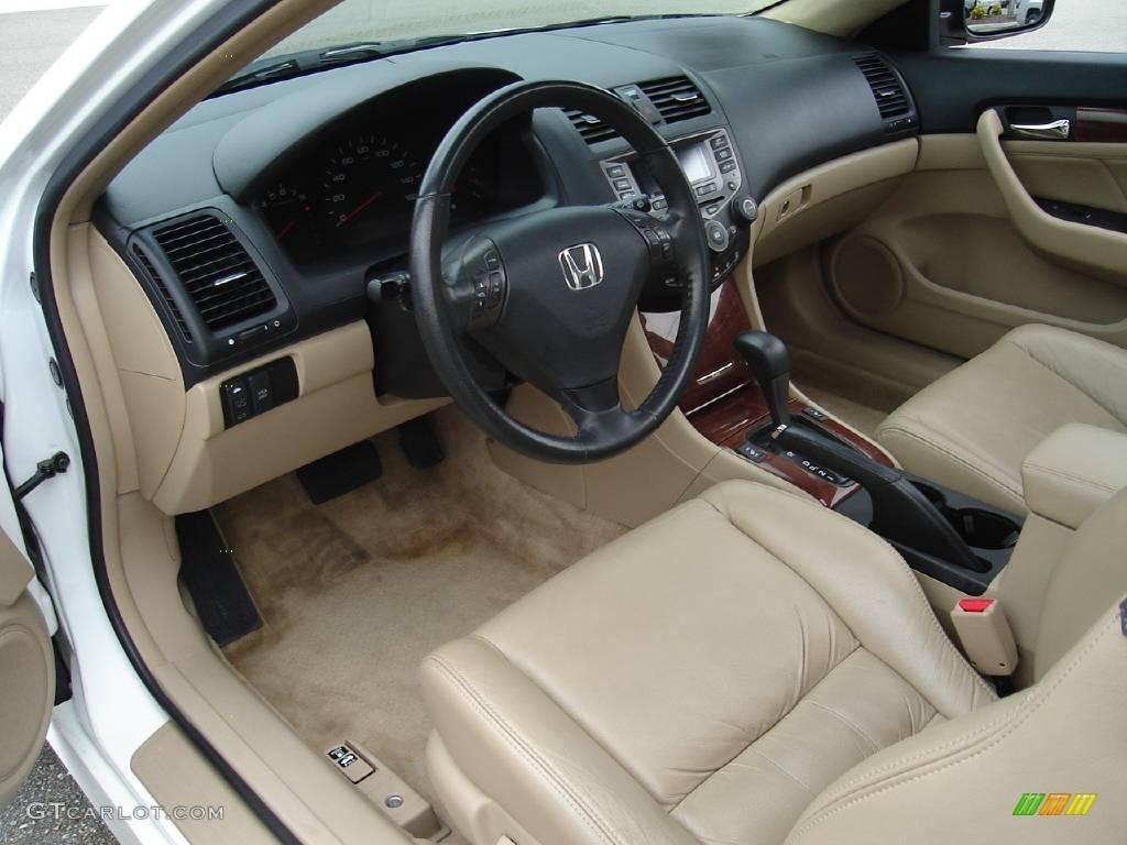 2006 Taffeta White Honda Accord Ex V6 Coupe 15324782