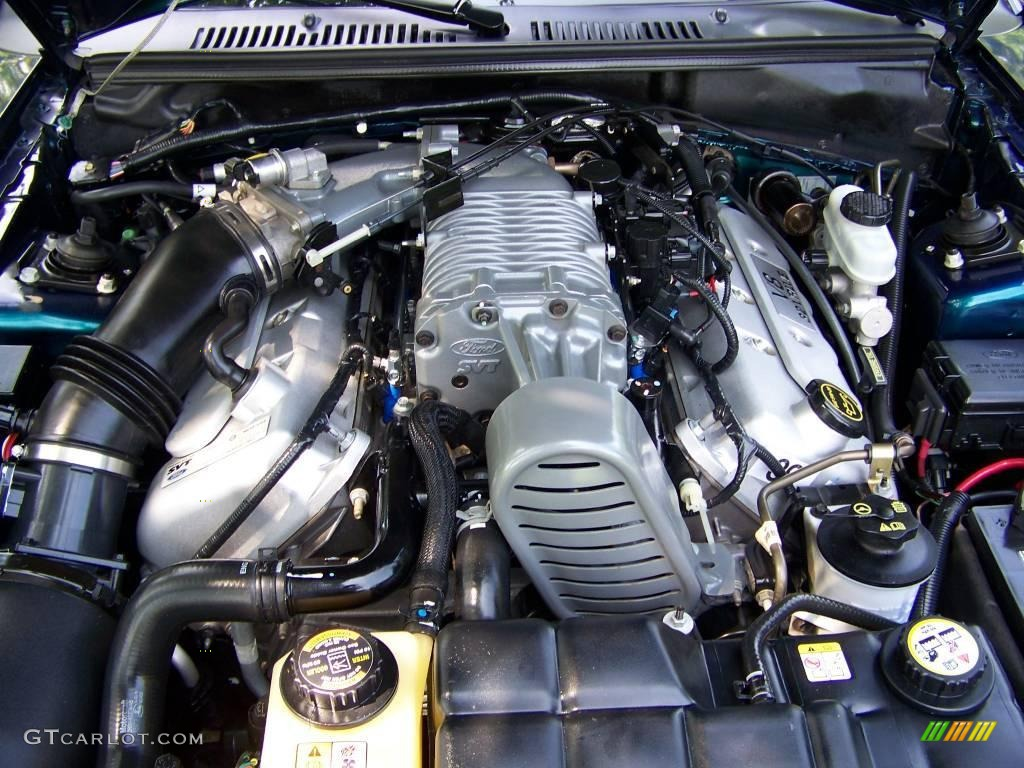 2004 Ford Mustang Cobra Convertible 4.6 Liter SVT Supercharged DOHC ...