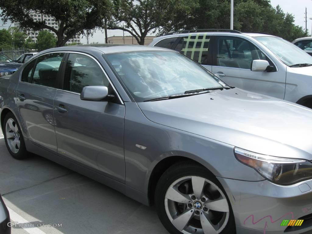 2006 silver grey metallic bmw 5 series 530i sedan 15342059 gtcarlot com car color galleries