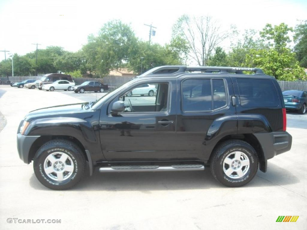 2008 Super Black Nissan Xterra S 15437626 Photo 10