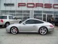 2005 GT Silver Metallic Porsche 911 Carrera S Coupe  photo #8