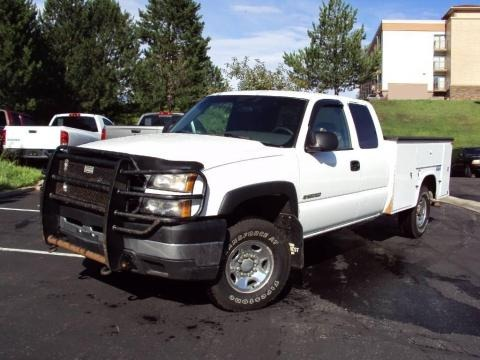 2007 chevrolet silverado 2500hd ls extended cab 4x4 utility truck data info and specs. Black Bedroom Furniture Sets. Home Design Ideas