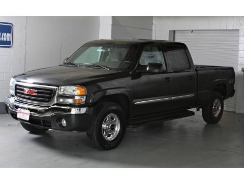 2003 gmc sierra 1500 sle crew cab 4x4 data info and specs. Black Bedroom Furniture Sets. Home Design Ideas