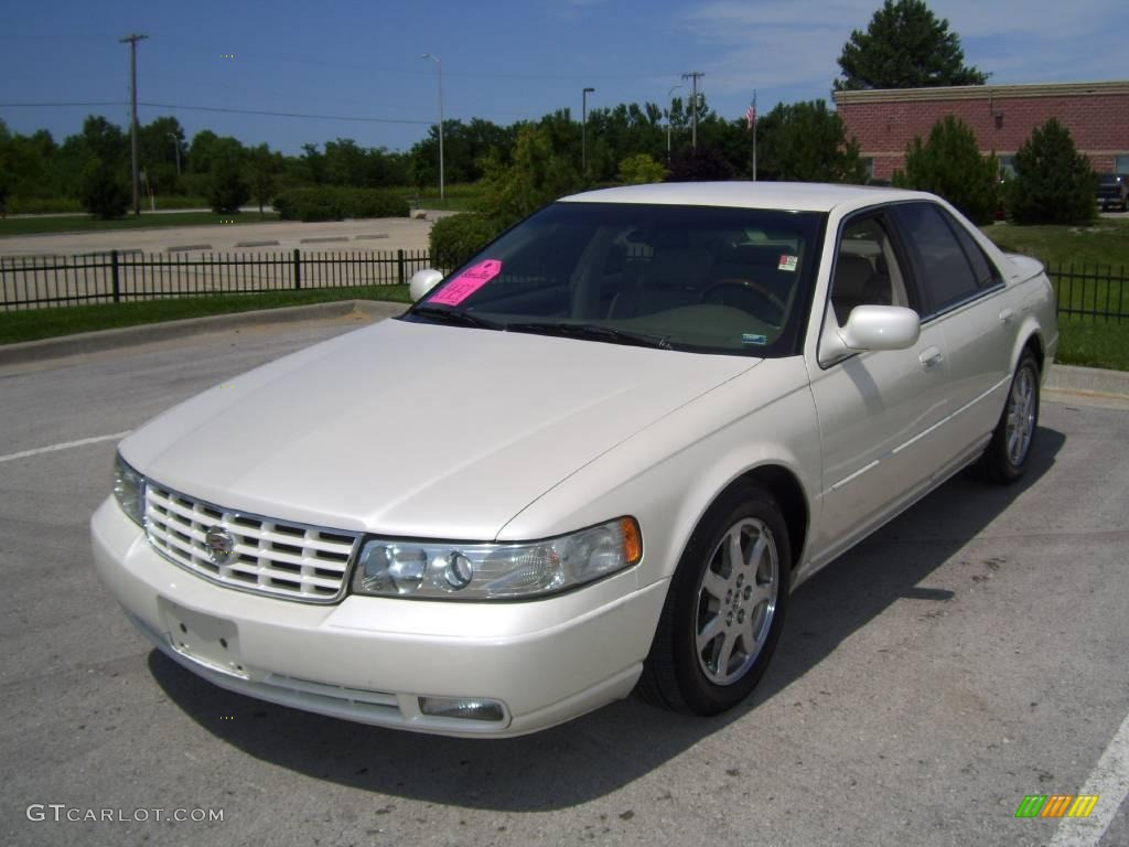 2003 white diamond cadillac seville sts 15506494. Black Bedroom Furniture Sets. Home Design Ideas