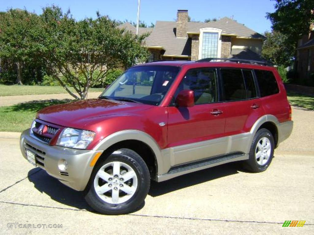 2005 Cambridge Red Pearl Mitsubishi Montero Limited 4x4