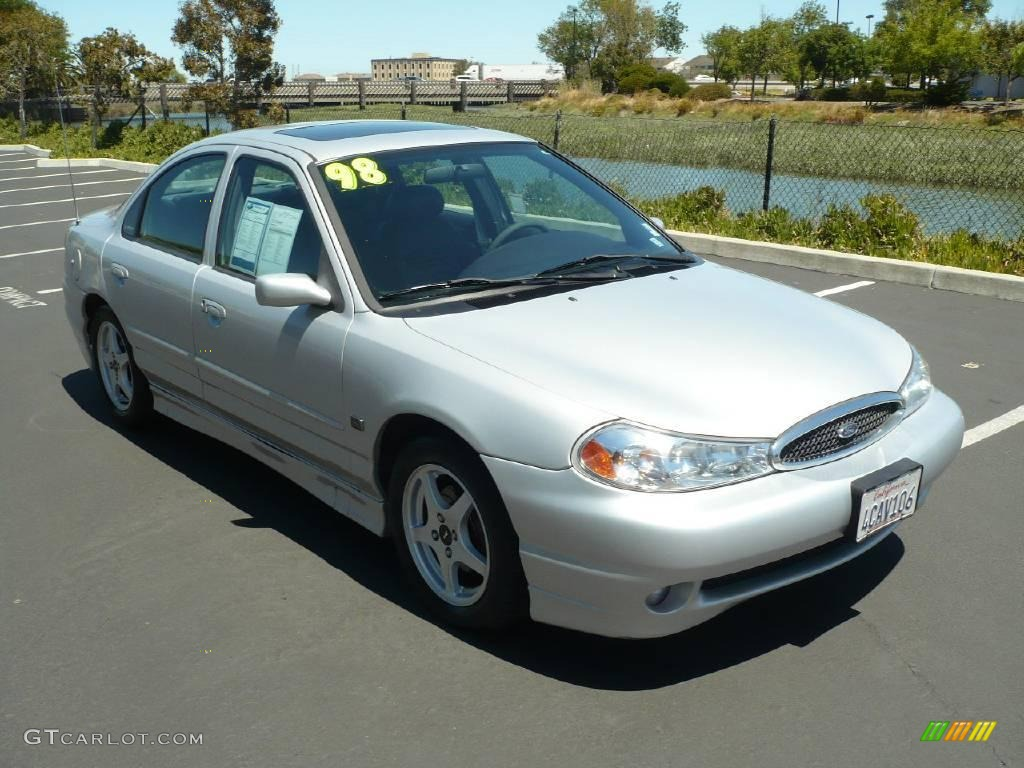 Silver Frost Metallic Ford Contour SVT