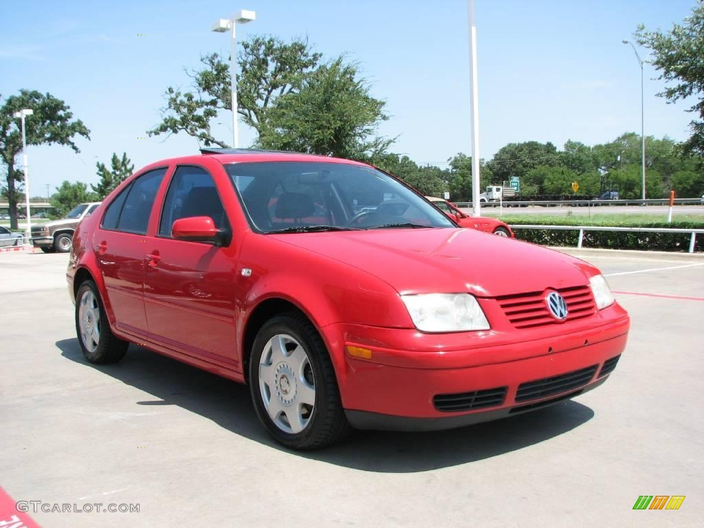 2001 tornado red volkswagen jetta glx vr6 sedan 15520305. Black Bedroom Furniture Sets. Home Design Ideas