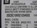 2002 Medium Charcoal Gray Metallic Chevrolet Silverado 1500 LS Extended Cab  photo #13