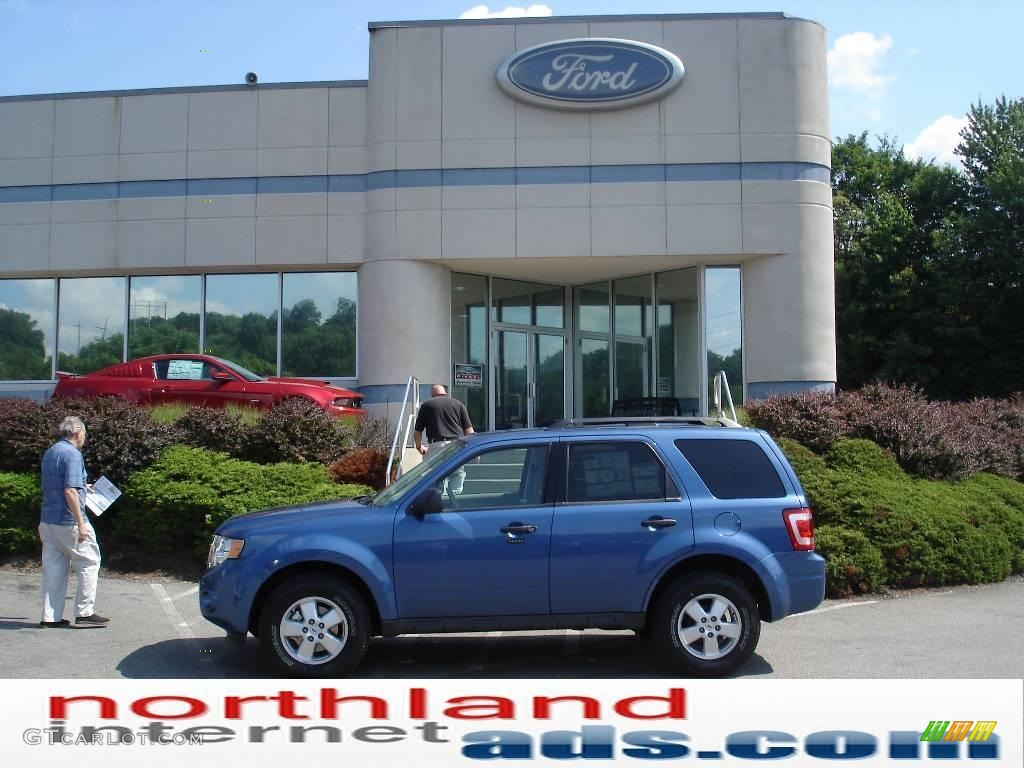 Sport Blue Metallic Ford Escape