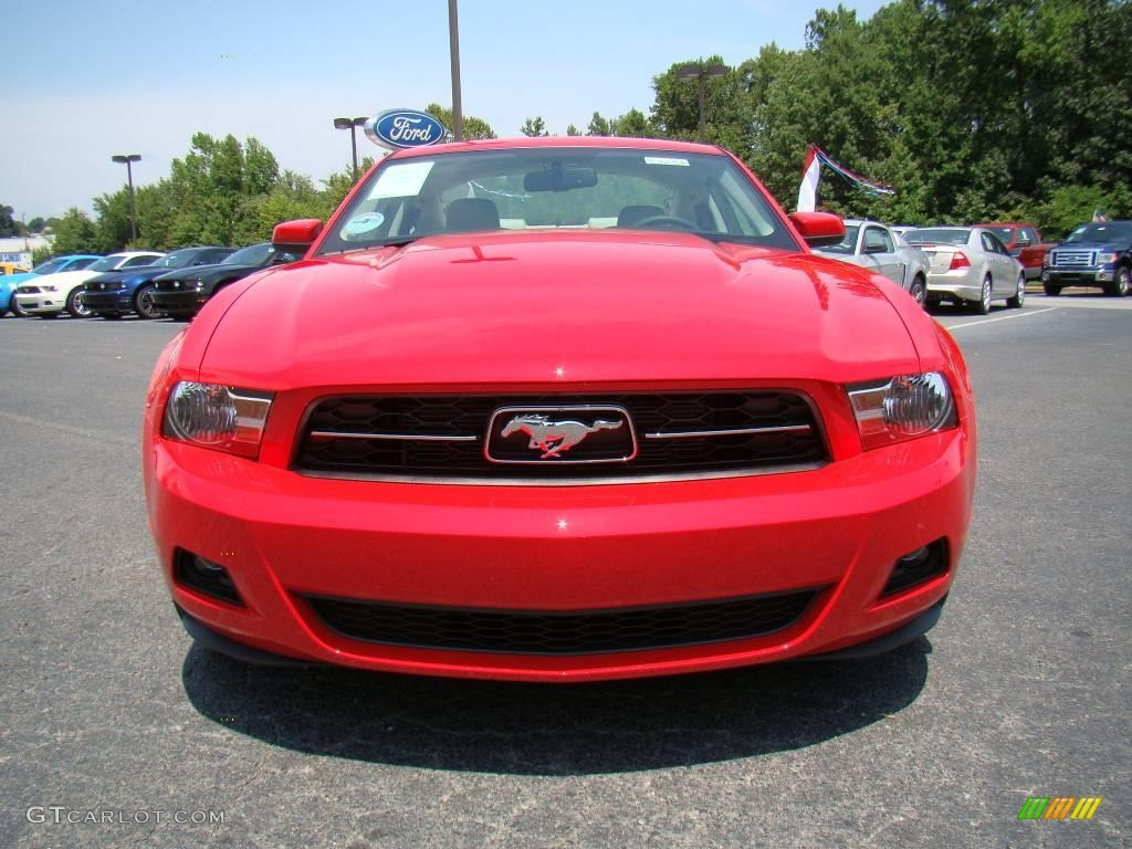 2010 torch red ford mustang v6 premium coupe 15515146. Black Bedroom Furniture Sets. Home Design Ideas