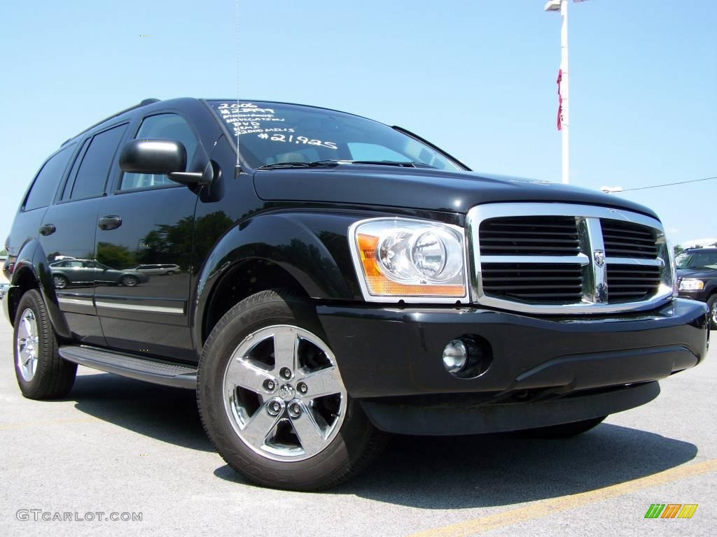 2006 black dodge durango limited hemi 4x4 15564791. Black Bedroom Furniture Sets. Home Design Ideas
