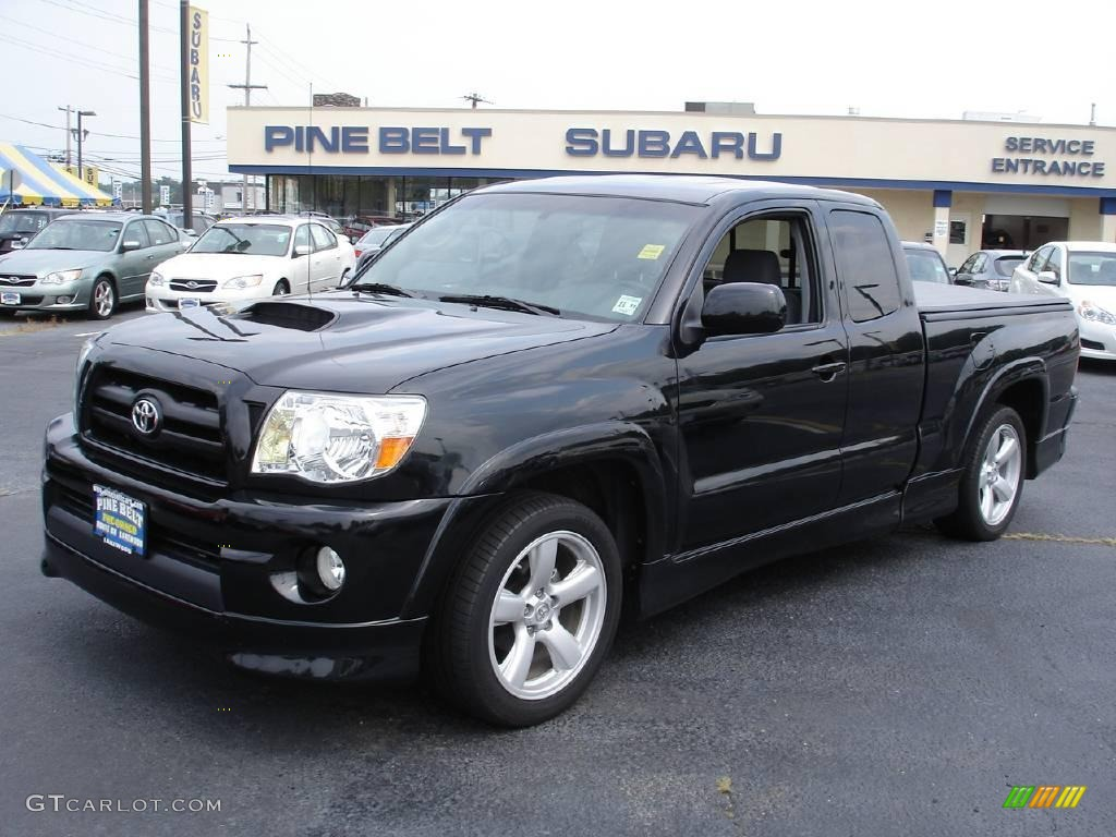 2008 Black Sand Pearl Toyota Tacoma X Runner 15563913