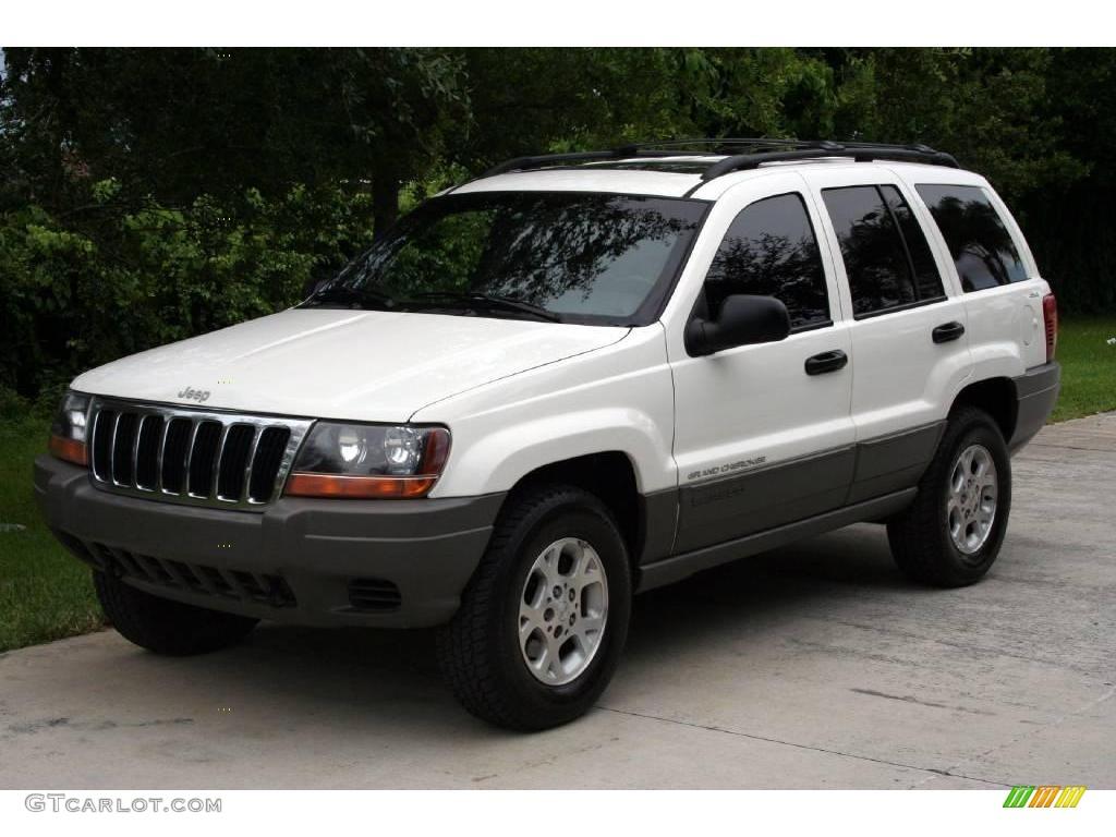 1999 stone white jeep grand cherokee laredo 4x4 15574809 car color galleries. Black Bedroom Furniture Sets. Home Design Ideas