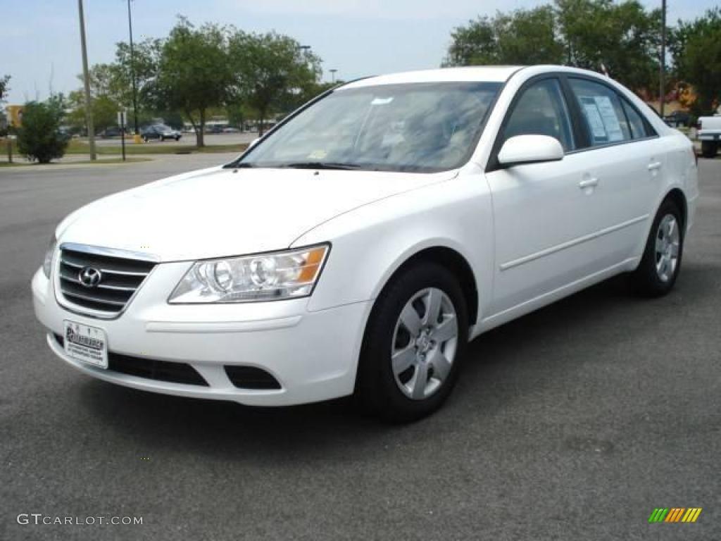 2009 Powder White Pearl Hyundai Sonata GLS #15573846   GTCarLot ...