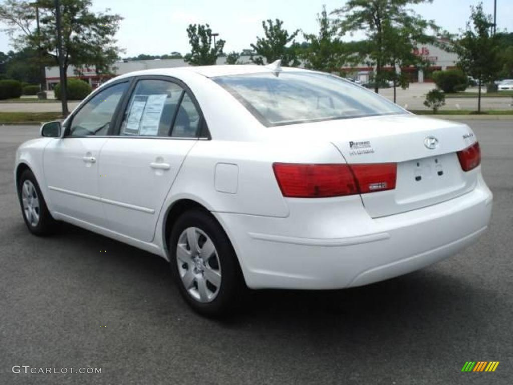 2009 Powder White Pearl Hyundai Sonata GLS 15573846 Photo
