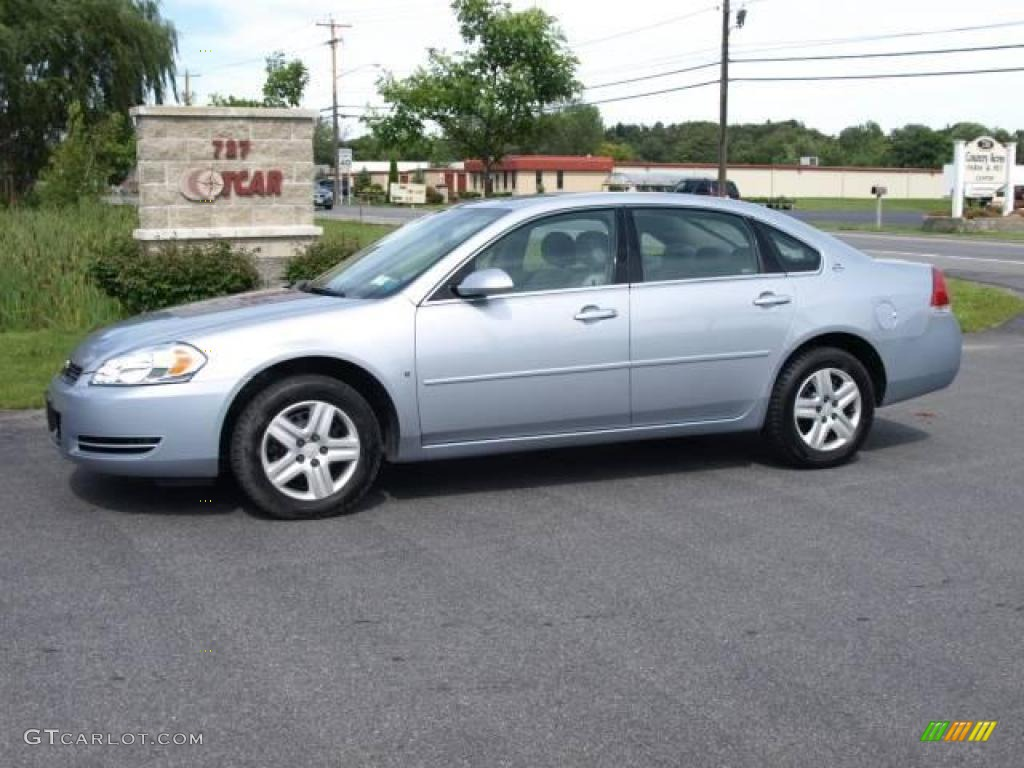 2006 Glacier Blue Metallic Chevrolet Impala Lt 15577514 Car Color Galleries