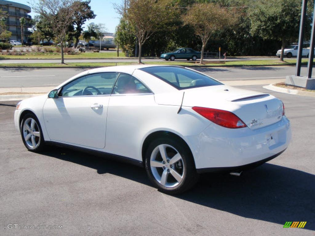 2008 Ivory White Pontiac G6 GT Convertible #1529281 Photo #2 ...