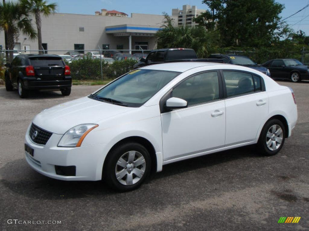 2007 Fresh Powder White Nissan Sentra 2 0 1529263