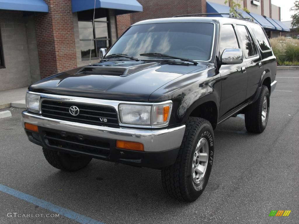 1994 Black Toyota 4runner Sr5 4x4 15630203 Photo 2 Car Color Galleries