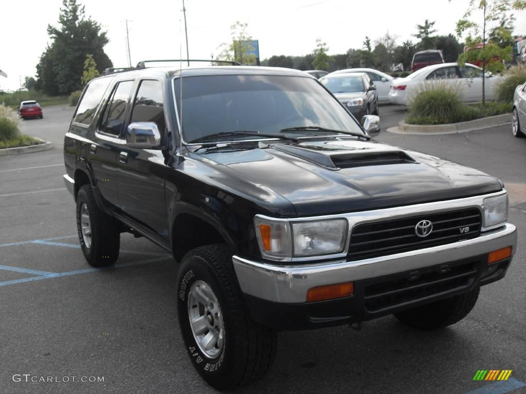 1994 Black Toyota 4runner Sr5 4x4 15630203 Photo 4 Car Color Galleries