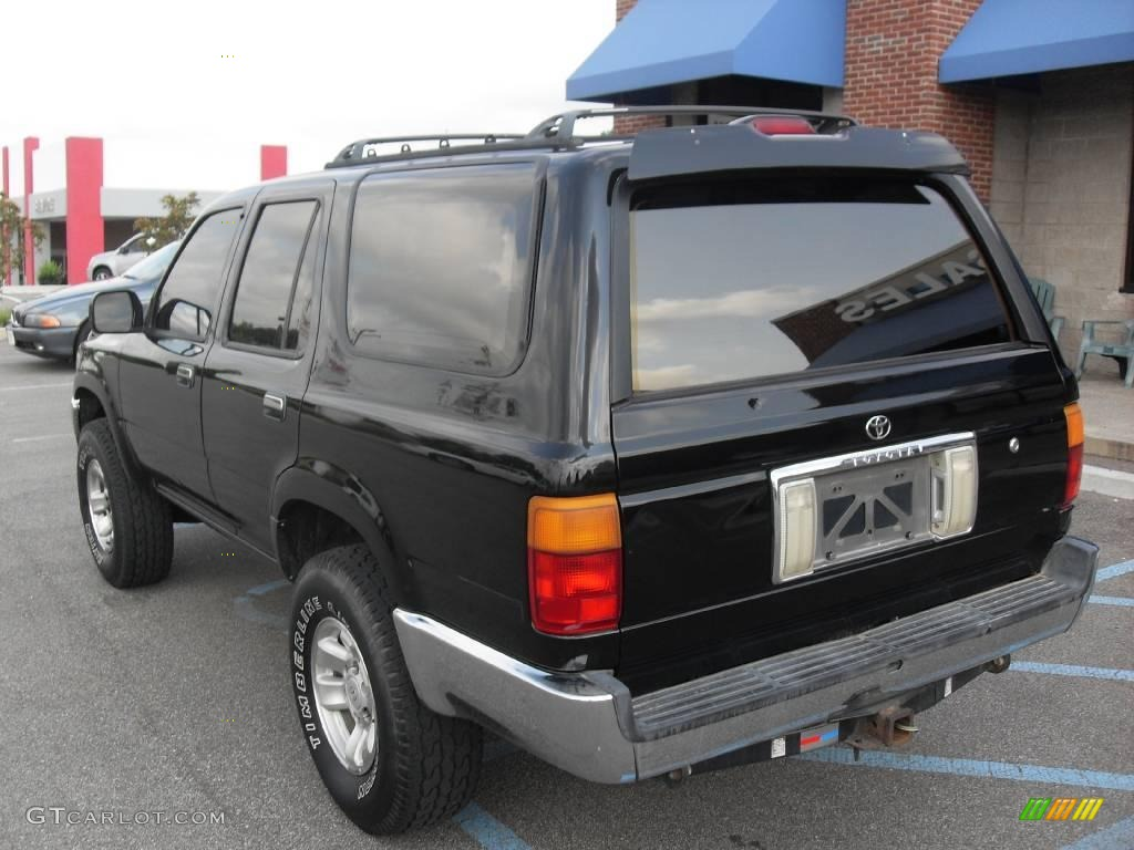 1994 Black Toyota 4runner Sr5 4x4 15630203 Photo 8 Car Color Galleries