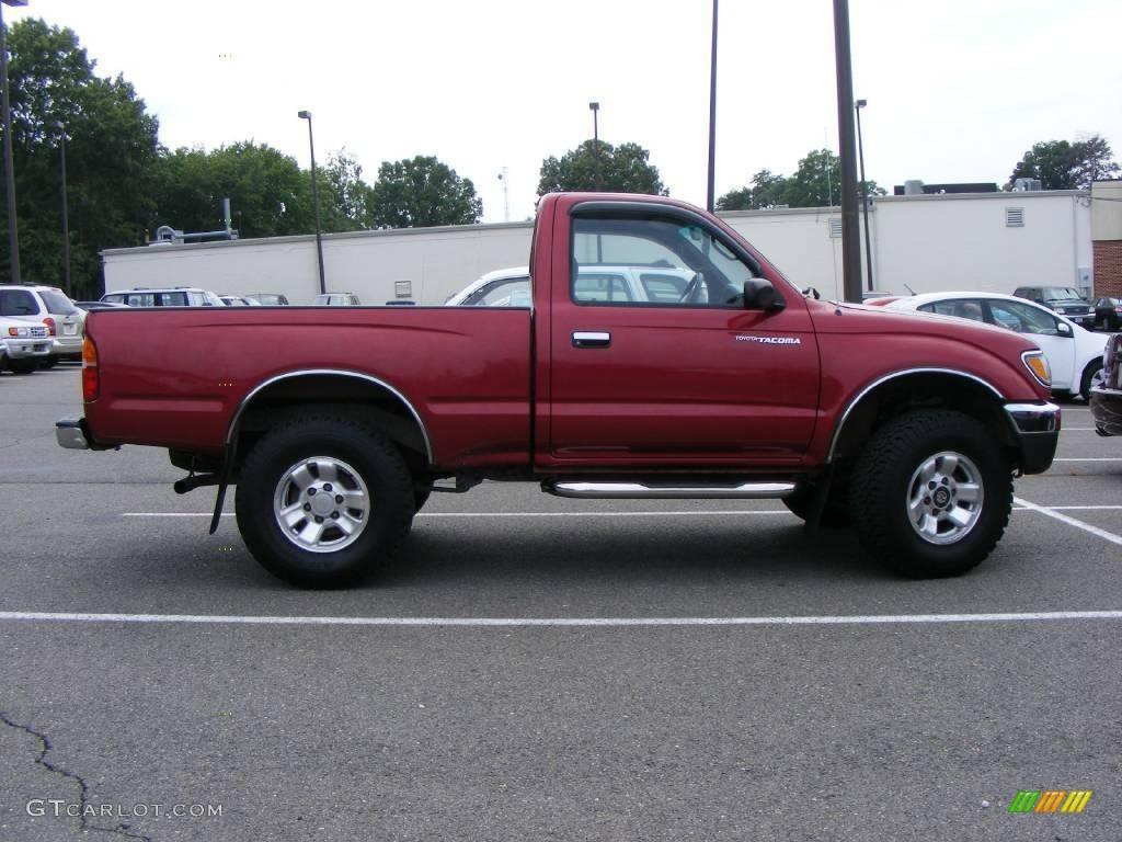 1997 colorado red toyota tacoma regular cab 4x4 15634728. Black Bedroom Furniture Sets. Home Design Ideas