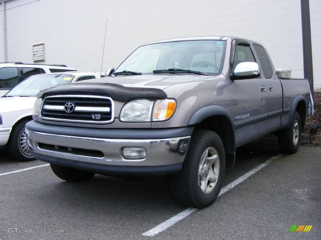 2002 thunder gray metallic toyota tundra sr5 access cab 4x4 15634727 car color. Black Bedroom Furniture Sets. Home Design Ideas