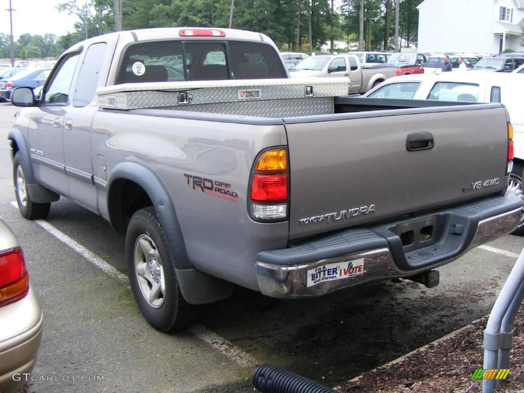 2002 thunder gray metallic toyota tundra sr5 access cab 4x4 15634727 photo 3. Black Bedroom Furniture Sets. Home Design Ideas