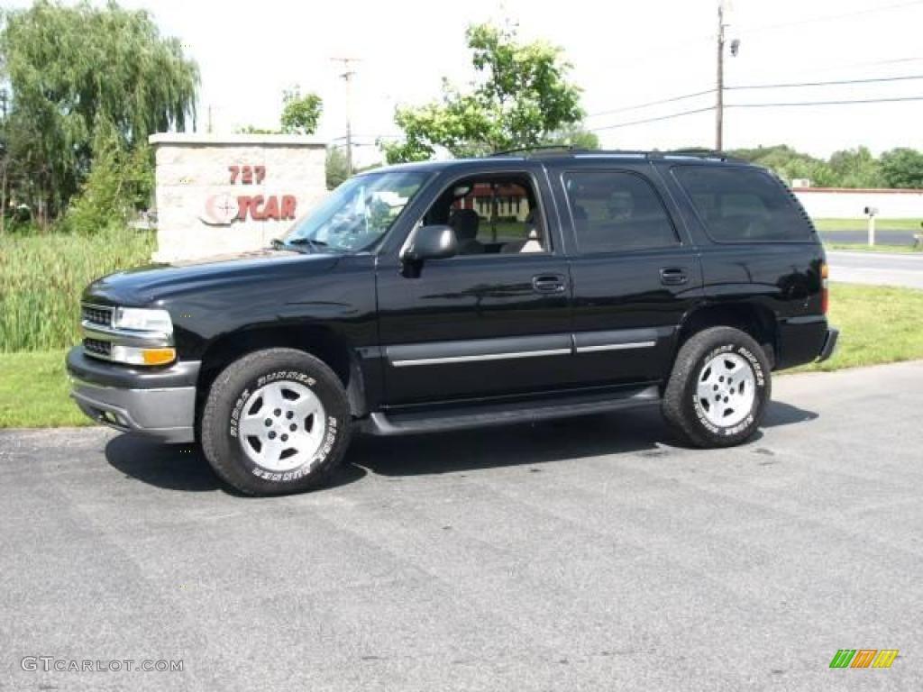 2004 Black Chevrolet Tahoe Ls 4x4 15632542 Gtcarlot Com Car Color Galleries