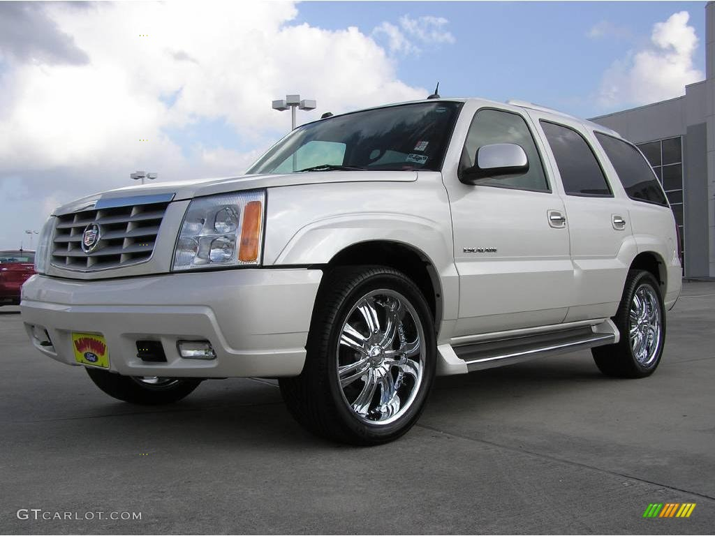 2005 white diamond cadillac escalade 1558187 car color galleries. Black Bedroom Furniture Sets. Home Design Ideas