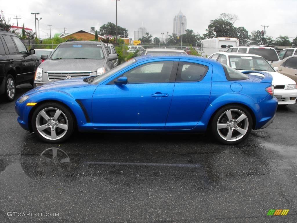 2004 winning blue metallic mazda rx 8 sport 15620163 photo 3 car color galleries. Black Bedroom Furniture Sets. Home Design Ideas