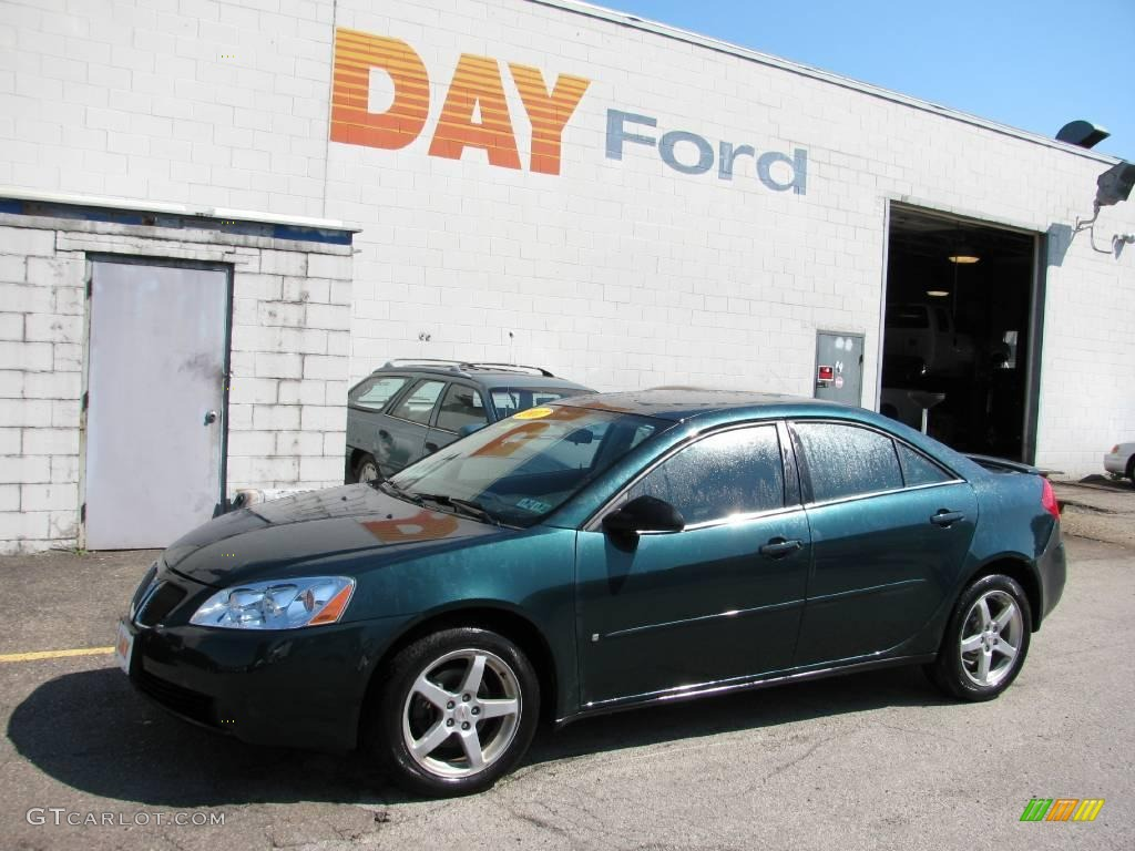 Emerald Green Metallic Pontiac G6